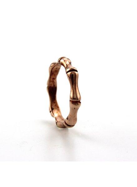 Dji Dji Italia Dji Dji, Zilveren ring, Bamboo Rosé.