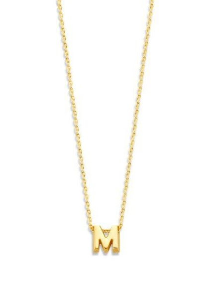 Just Franky Just Franky Capital Necklace 1 Capital M