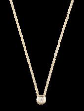 Just Franky Just Franky Capital Necklace 1 Diamond 39/41 cm