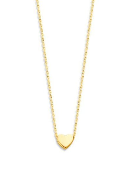 Just Franky Just Franky Capital Necklace Heart