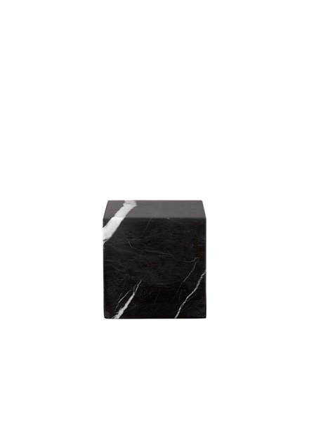 Stoned Stoned Presse Papier zwart marmer B024