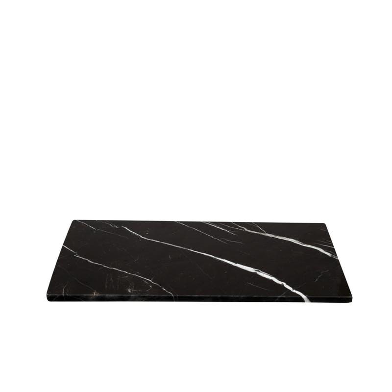 Stoned Stoned Serveerplank zwart marmer B020