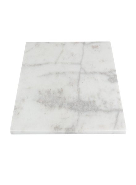 Stoned Stoned keukenbord wit marmer W060