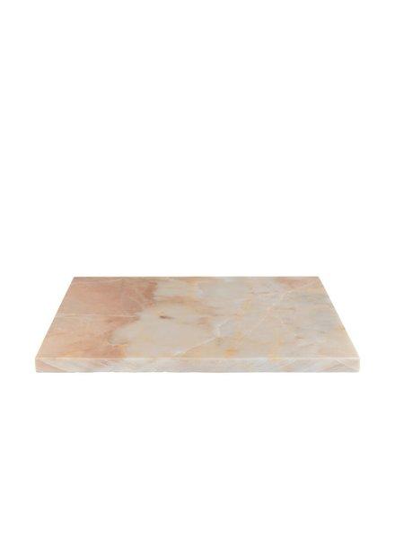 Stoned Stoned keukenbord roze marmer P034