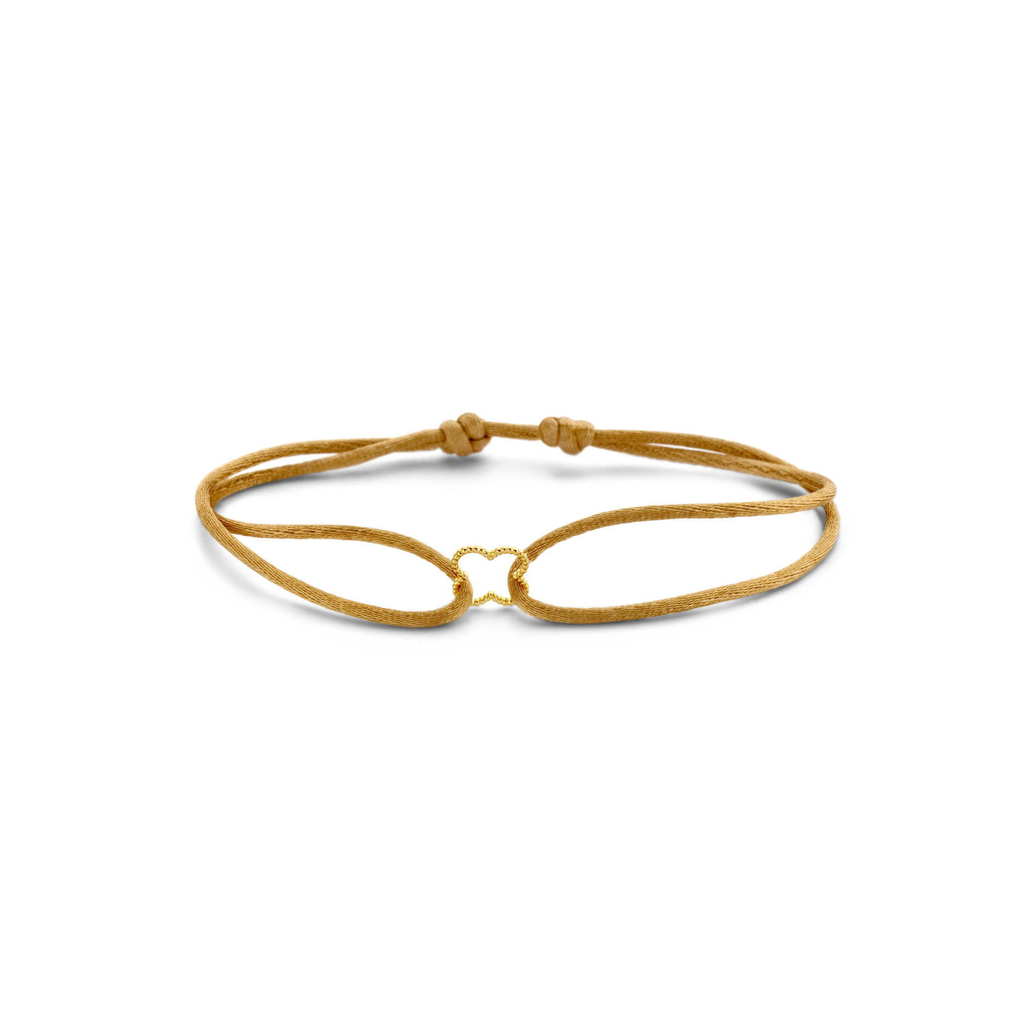 Just Franky Just Franky Iconic Vintage Clover Bracelet