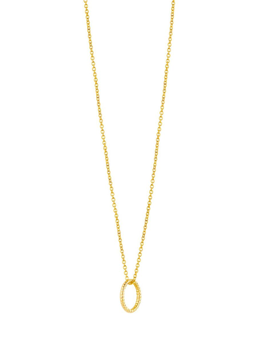 Just Franky Just Franky Vintage Round Necklace