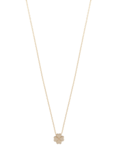 Just Franky Just Franky Capital Clover Necklace