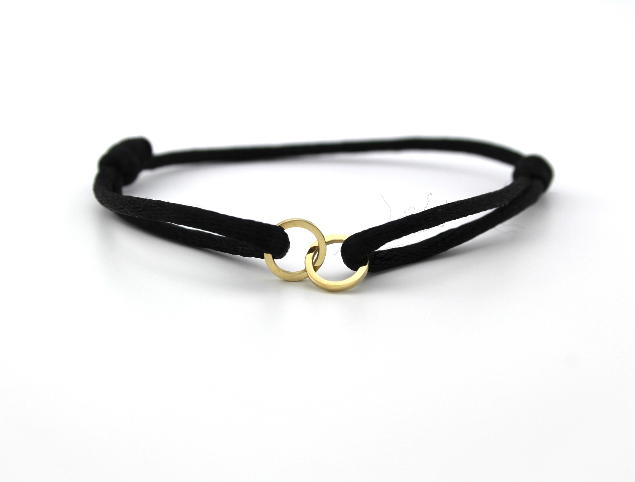 Just Franky Just Franky Double Open Circle Bracelet