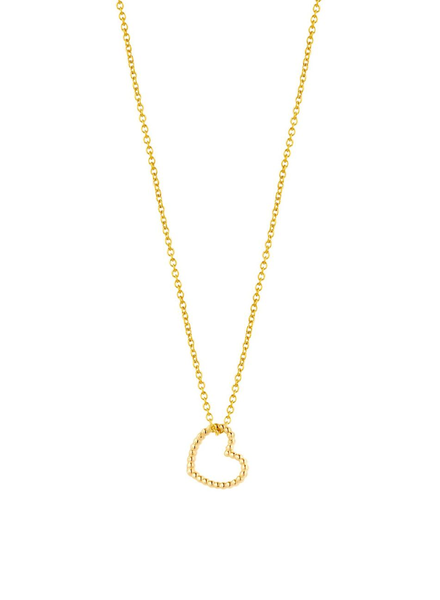 Just Franky Just Franky ketting vintage heart 39/41 cm