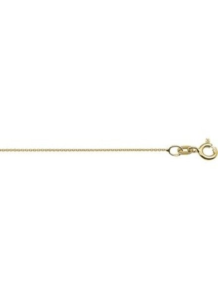 Tomylo Tomylo ketting goud 42 cm anker schakel
