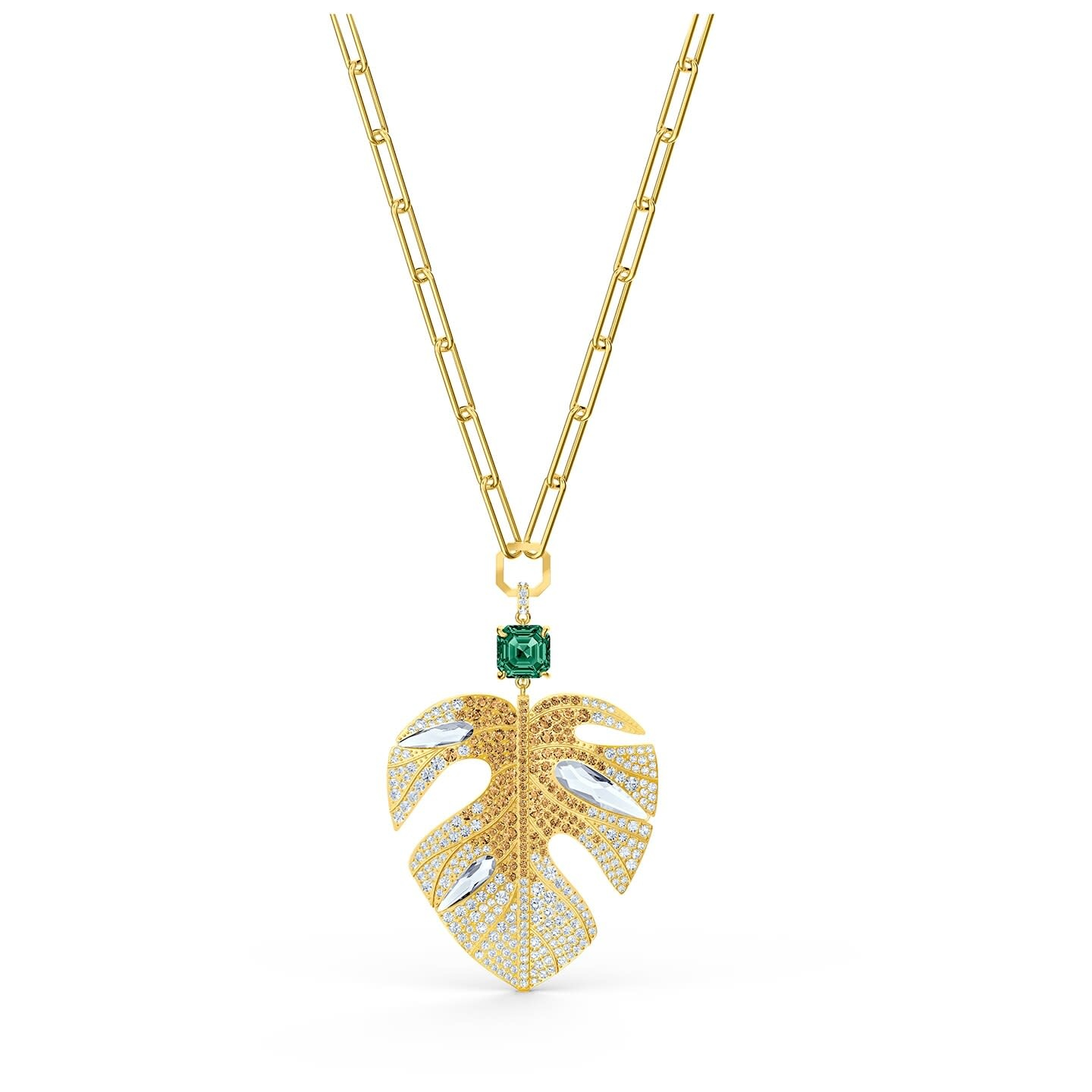 Swarovski Swarovski ketting Tropical Leaf 5512695
