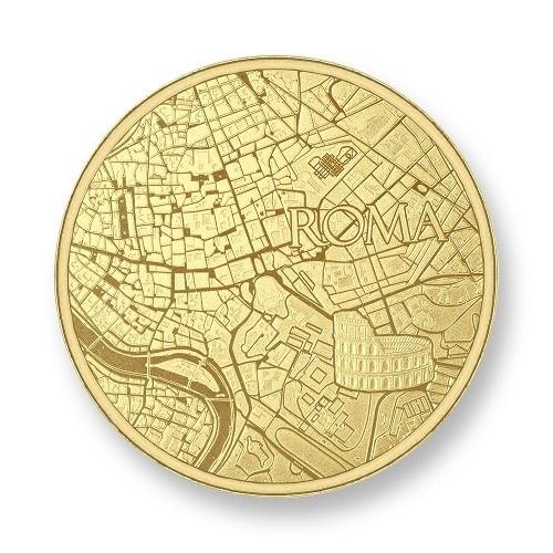 Mi Moneda Munt Roma Gold