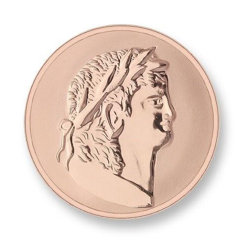 Mi Moneda Munt Roman & Scarabee Rose Small