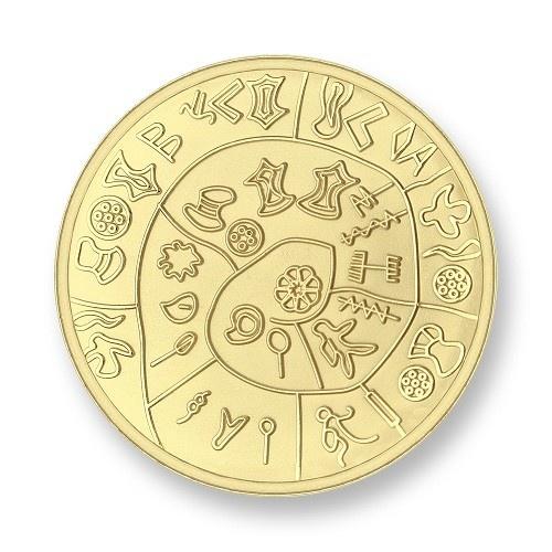 Mi Moneda Munt Phatos & Numbers Gold Medium