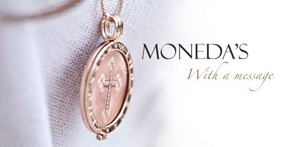 Mi Moneda Munt Phatos & Numbers Rose Medium
