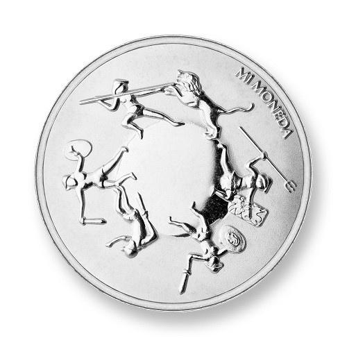 Mi Moneda Munt Eternity & Shield Silver Small