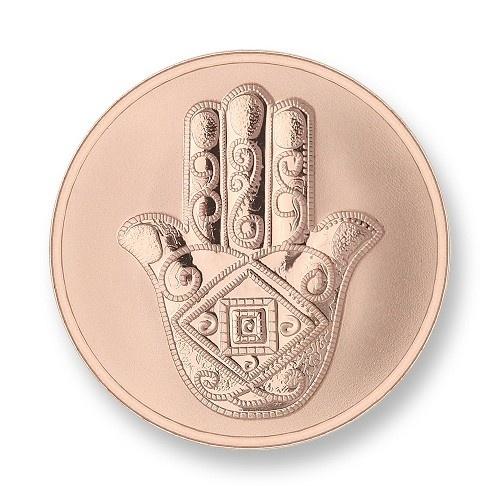Mi Moneda Munt Da Vinci & Hand Rose medium