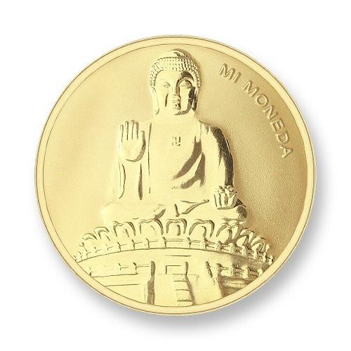 Mi Moneda Munt Buddha Gold small