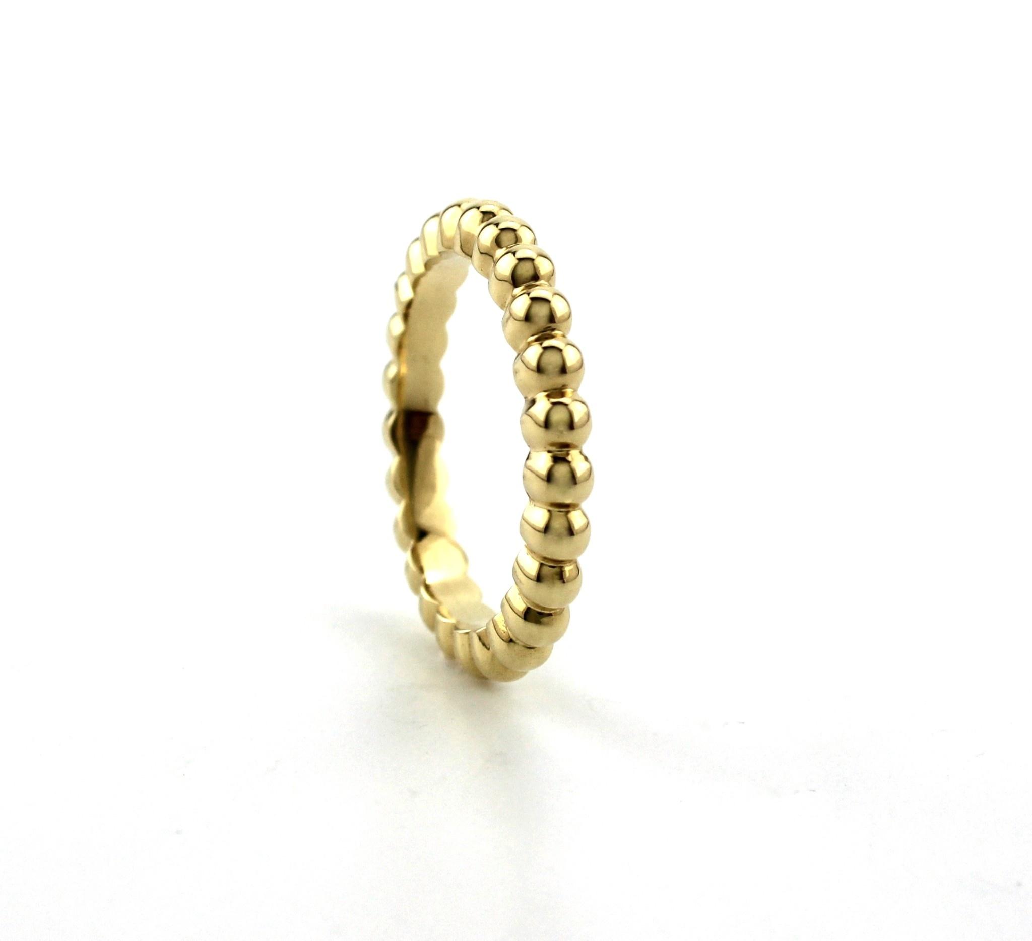 ROEMER by Bregje ROEMER by Bregje geelgouden ring met bolletjes