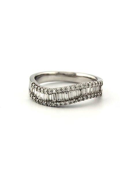 ROEMER ROEMER witgouden ring met diamant