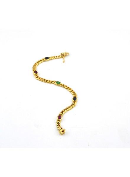 Monzario Oro Monzario armband Goud 1178A Geel