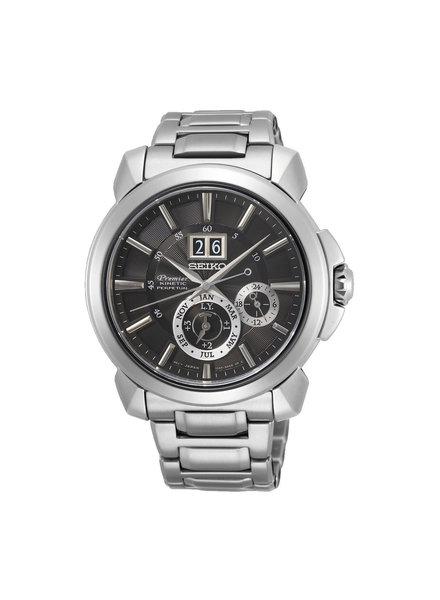 Seiko Seiko Premier Kinetic Horloge SNP165P1