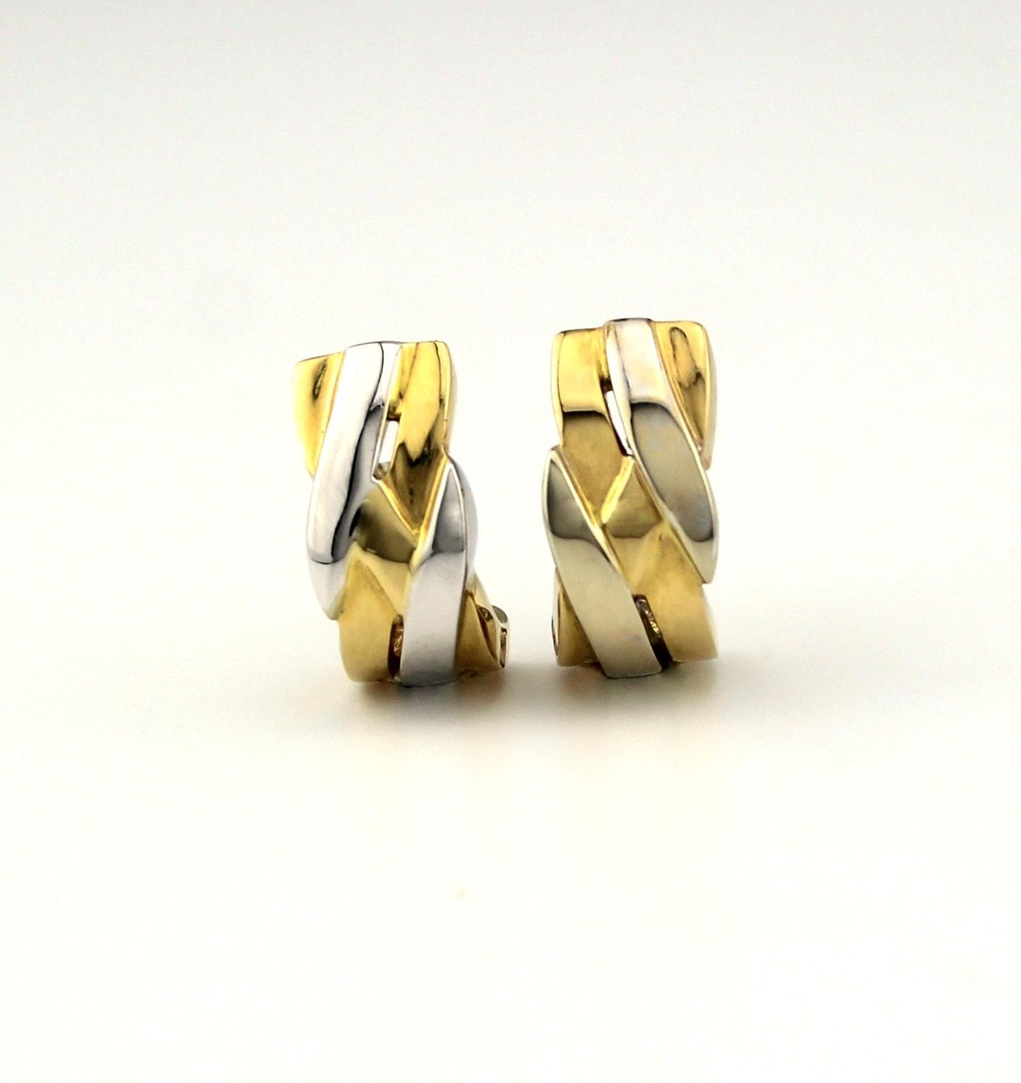 ROEMER ROEMER bicolor gouden Balmain oorsieraden