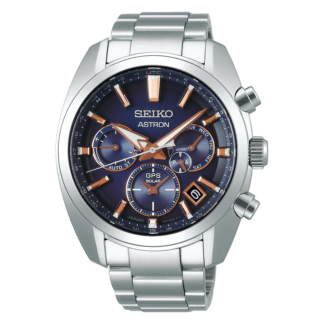Seiko Seiko Astron horloge GPS Solar Dual Time SSH049J1