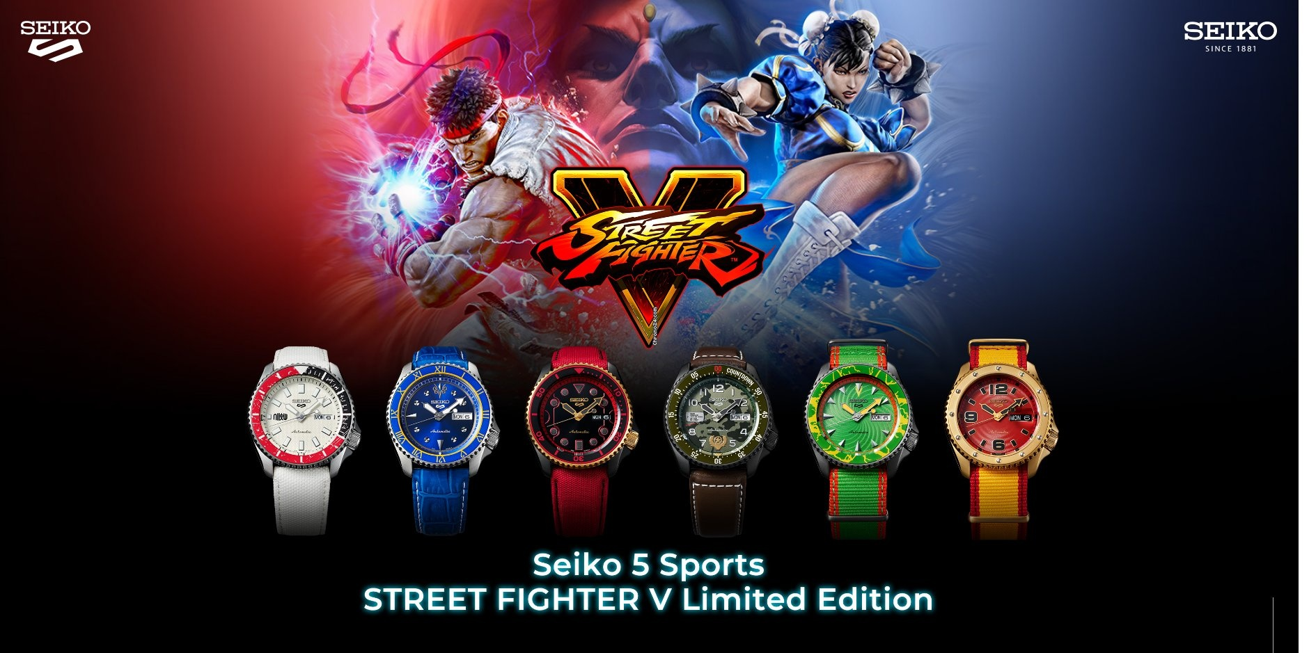 Seiko en Street Fighter V