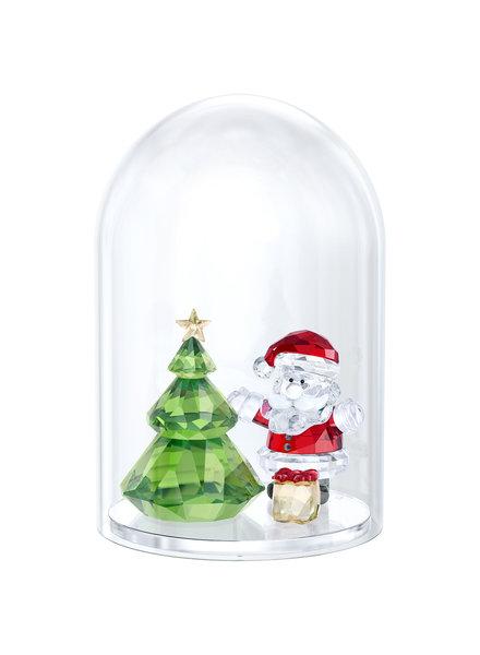 Swarovski Swarovski Bell Jar - Christmas Tree & Santa 5403170