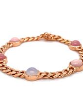 Monzario Oro Monzario 1255A rosegouden armband met kleurstenen
