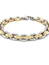 Monzario Oro Monzario 823A geel- met witgouden armband