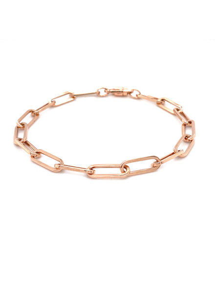 Monzario Oro Monzario rosegouden armband closed for ever 1273A