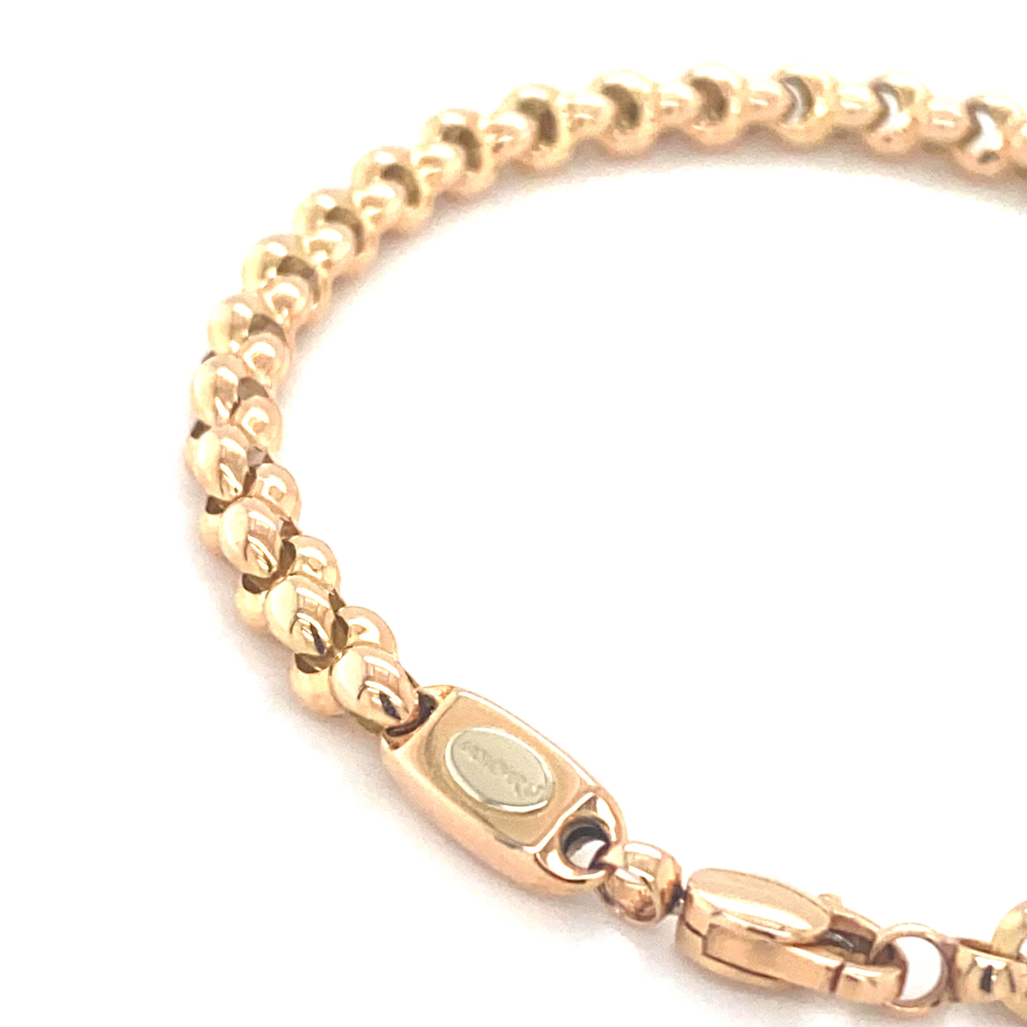 Monzario Oro Monzario armband goud 1183A Rosé
