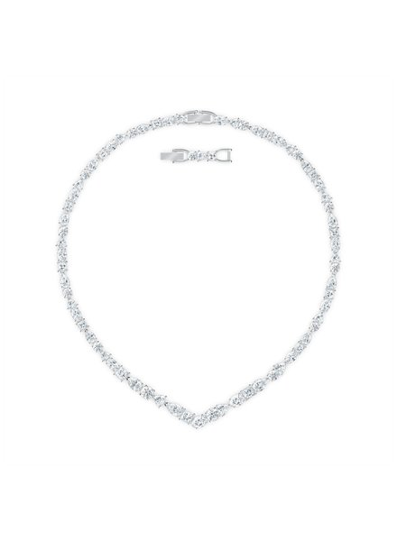 Swarovski Swarovski collier Tennis Deluxe Mixed V Necklace  5556917