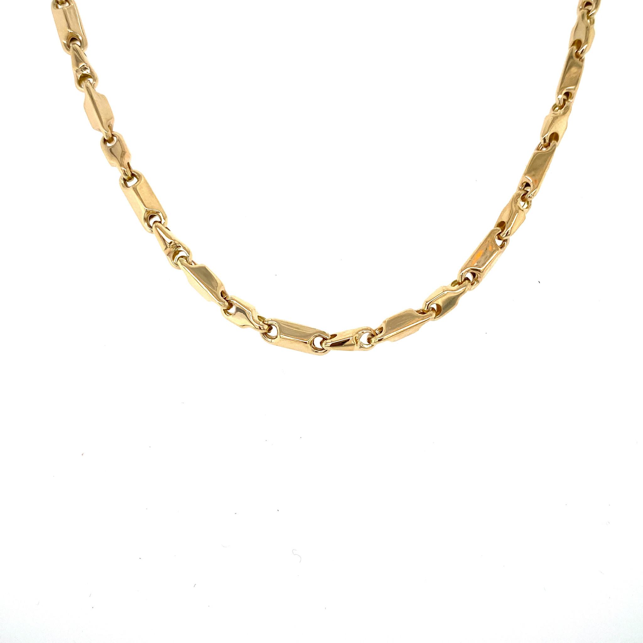 Monzario Oro Geelgouden Monzario collier 1186C