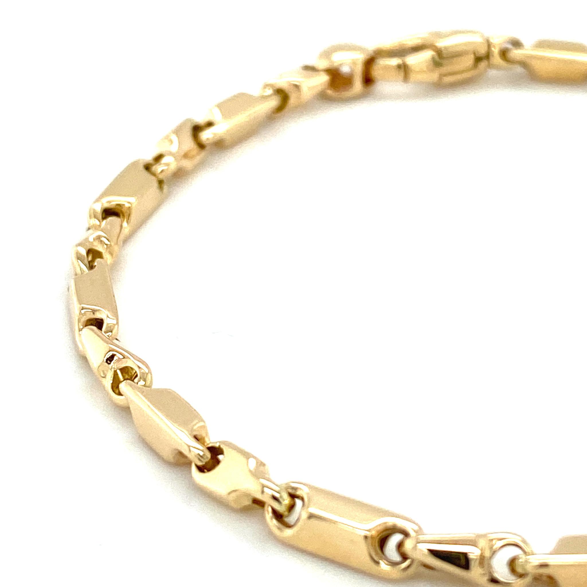 Monzario Oro Monzario geelgouden armband 1186A