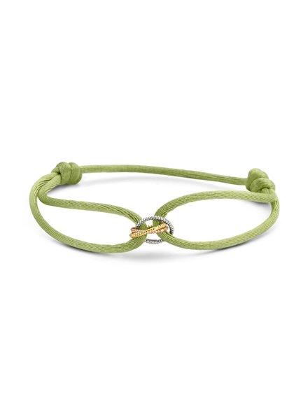 Just Franky Just Franky Vintage Triple Love bracelet