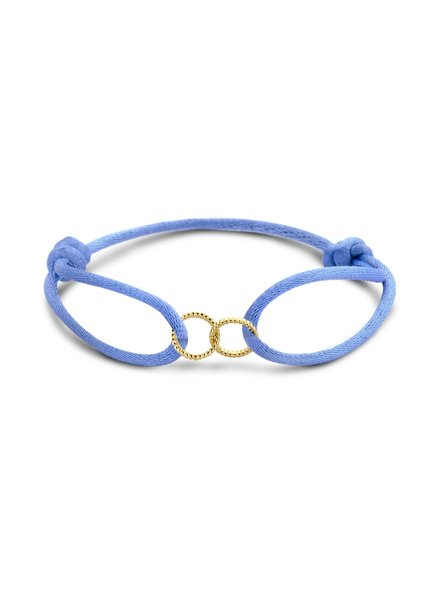 Just Franky Just Franky Vintage Double Open Circle bracelet