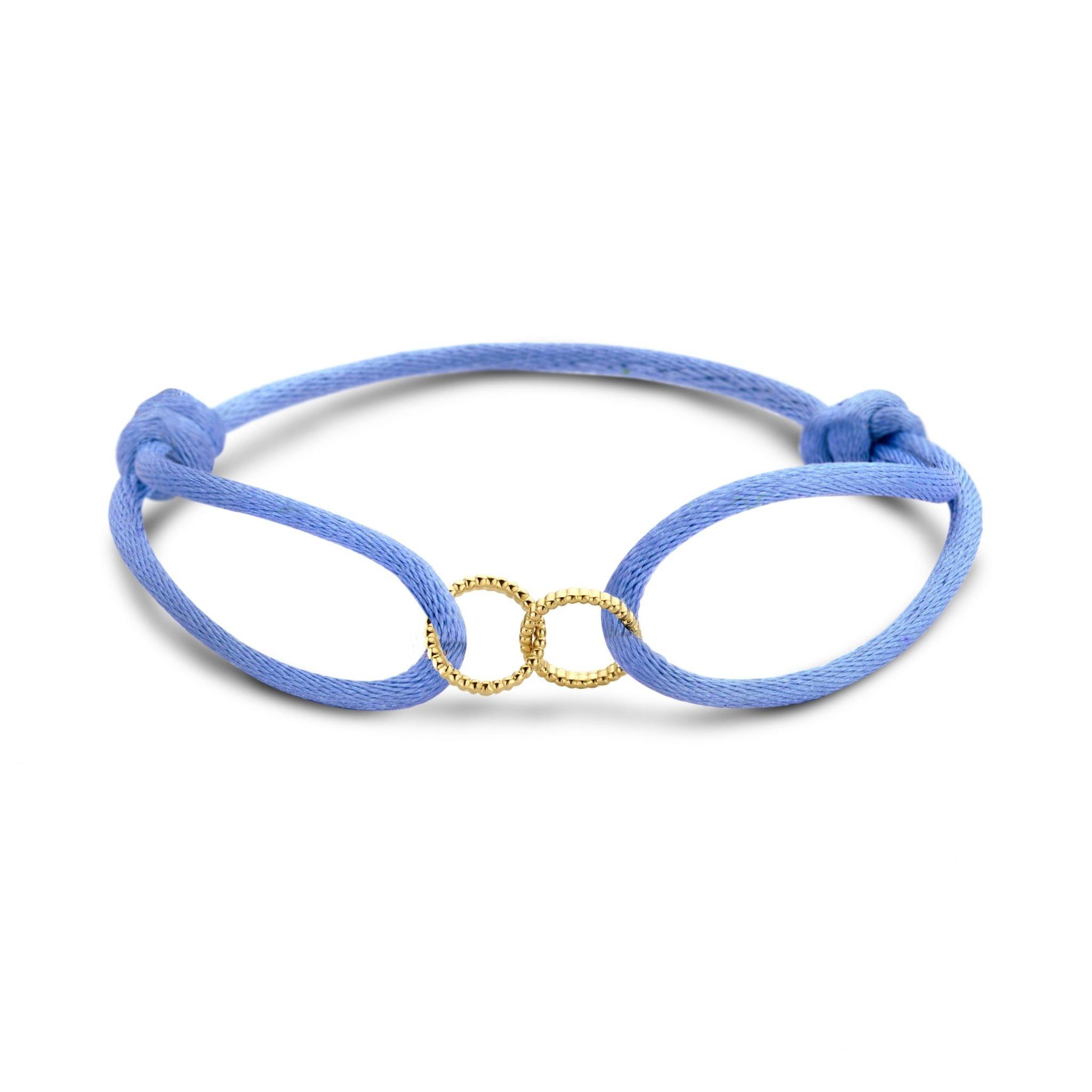 Just Franky Just Franky Vintage Double Open Circle bracelet
