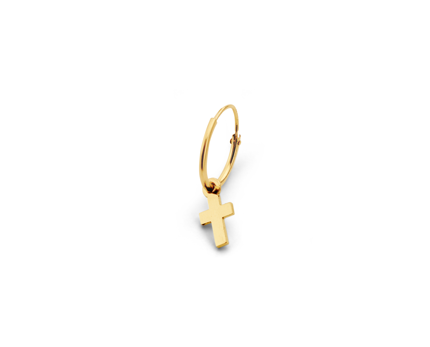 Just Franky Just Franky Iconic earring Cross single piece