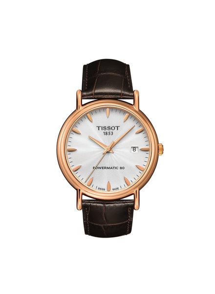 Tissot Tissot Gouden Heren horloge Powermatic 80