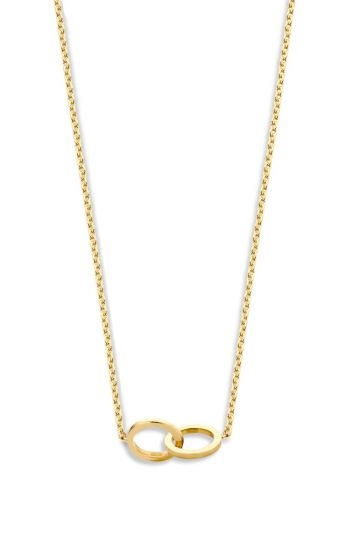 Just Franky Just Franky Iconic Double Open Circle necklace