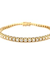 ROEMER ROEMER gouden tennisarmband met 3,20 ct Si/H 18kt goud
