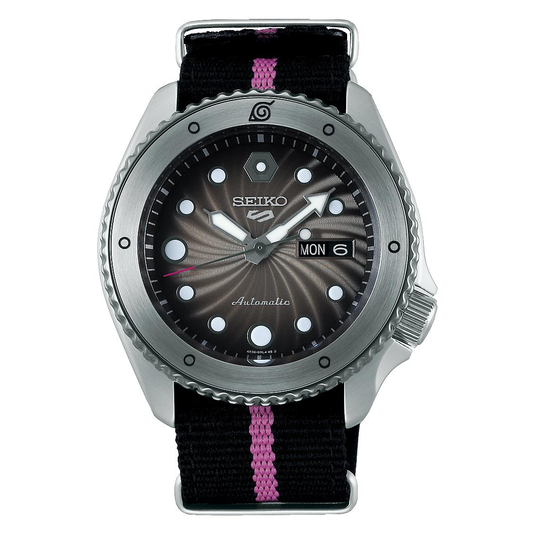 Seiko Seiko 5 Sports horloge Ninja Boruto SRPF65K1 Limited Edition