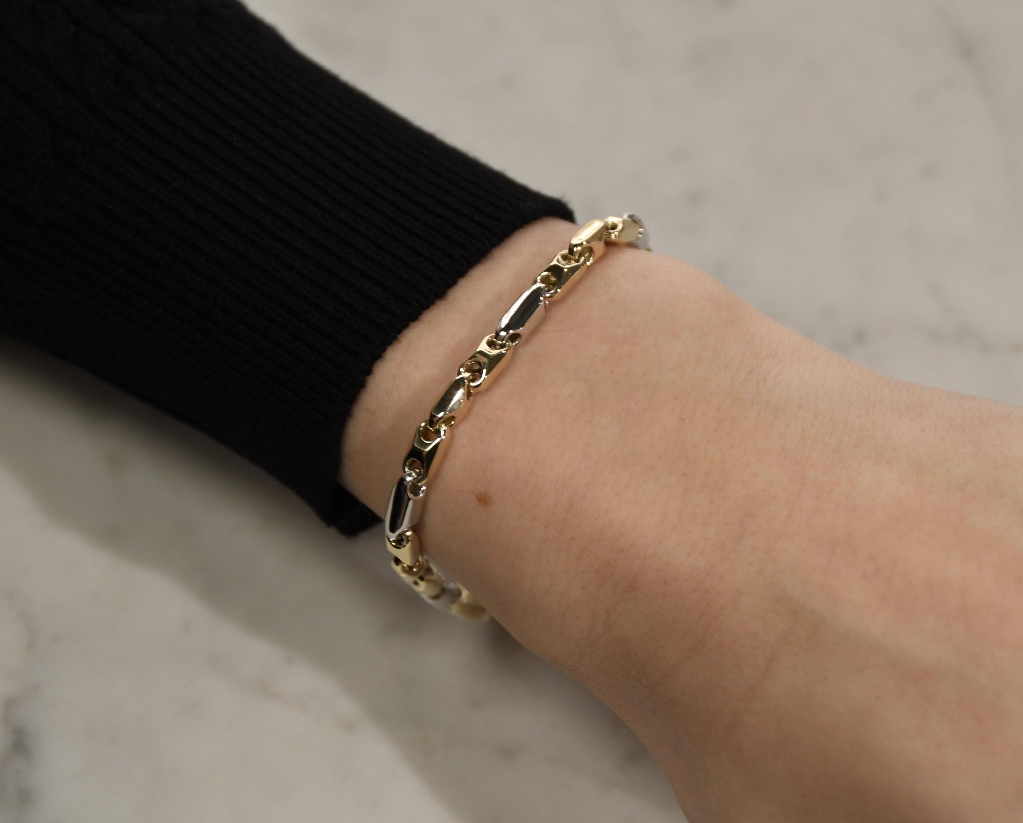 Monzario Oro Monzario Oro gouden armband 596A BIC