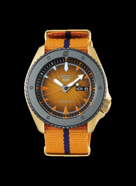 Seiko Seiko 5 Sports horloge Ninja Naruto SRPF70K1 Limited Edition