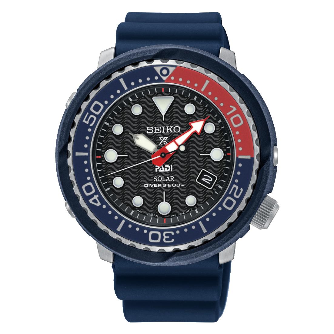 Seiko Seiko horloge Prospex Padi Solar Special Edition SNE499P1