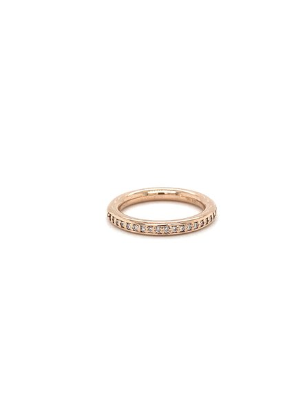 ROEMER by Bregje ROEMER by Bregje roségouden ring met briljant