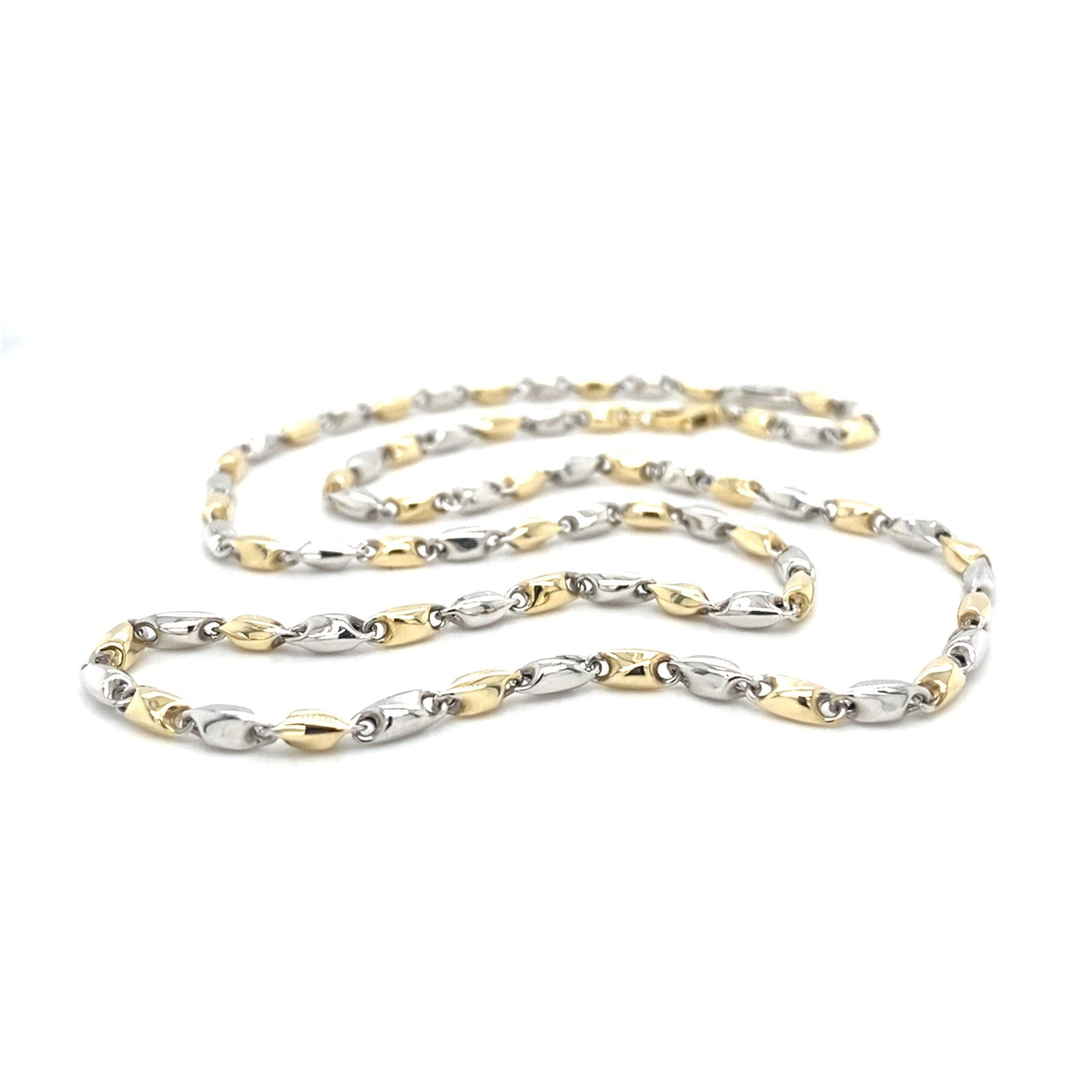 Monzario Oro Monzario gouden collier 837CBIC